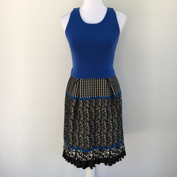 Anthropologie Dresses & Skirts - Anthro Girls From Savoy Arden sweater tank dress S